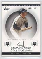 Mickey Mantle (1956 Triple Crown - 130 RBI) /150
