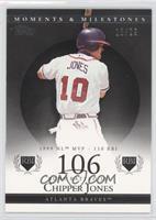 Chipper Jones (1999 NL MVP - 110 RBI) /29