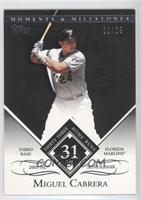 Miguel Cabrera (2005 NL Silver Slugger - 33 Home Runs) /29
