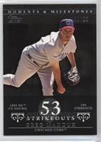 Greg Maddux (1992 NL Cy Young - 199 Strikeouts) /29