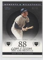 Mickey Mantle (1956 Triple Crown - 130 RBI) #20/29