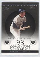 Mickey Mantle (1956 Triple Crown - 130 RBI) /29