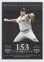 Roger Clemens (1987 AL Cy Young - 256 Strikeouts) /29