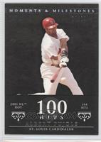 Albert Pujols 2001 NL ROY - 194 Hits /29