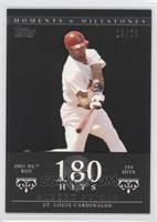 Albert Pujols (2001 NL ROY - 194 Hits) /29