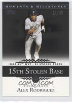 Alex Rodriguez (2005 AL MVP - 21 Stolen Bases) /29