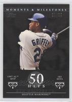 Ken Griffey (1997 AL MVP - 185 Hits) /29