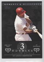 Albert Pujols 2001 NL ROY - 47 Doubles /29