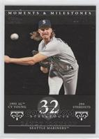 Randy Johnson (1995 AL Cy Young - 294 Strikeouts) /29