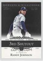 Randy Johnson 1995 AL Cy Young - 3 Shutouts /29