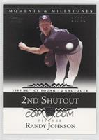 Randy Johnson 1999 NL Cy Young - 2 Shutouts /29