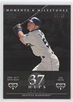 Ichiro Suzuki (2001 AL MVP/ROY - 242 Hits) /29