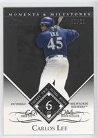 Carlos Lee (2005 NL Silver Slugger - 32 Home Runs) /29