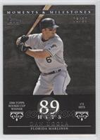 Dan Uggla 2006 Topps Rookie Cup Winner - 172 Hits /29