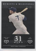 Mickey Mantle (1957 AL MVP - 173 Hits) /29