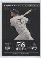 Mickey Mantle 1957 AL MVP - 173 Hits /29