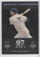 Mickey Mantle (1957 AL MVP - 173 Hits) #28/29