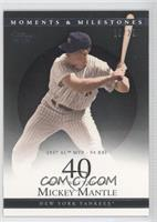 Mickey Mantle 1957 AL MVP - 94 RBI /29