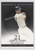 Derek Jeter 1996 AL ROY - 78 RBI /29