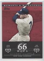 Mickey Mantle (1956 AL MVP - 188 Hits) /1