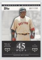 David Ortiz (2004 AL Silver Slugger - 75 Walks) /150