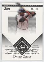 David Ortiz (2004 AL Silver Slugger - 47 Home Runs) /150