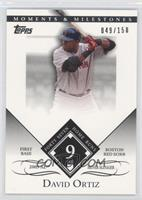 David Ortiz 2004 AL Silver Slugger - 47 Home Runs /150