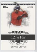 David Ortiz (2004 ALCS MVP - 11 RBI) /150