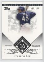 Carlos Lee 2005 NL Silver Slugger - 32 Home Runs /150