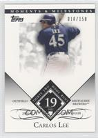 Carlos Lee (2005 NL Silver Slugger - 32 Home Runs) /150