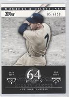Mickey Mantle (1956 AL MVP - 188 Hits) /150