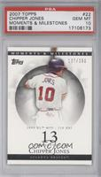 Chipper Jones 1999 NL MVP - 110 RBI /150 [PSA 10]