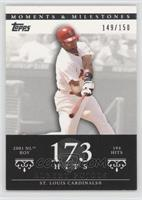 Albert Pujols (2001 NL ROY - 194 Hits) /150
