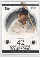 Mickey Mantle (1958 AL All-Star - 97 RBI) /150