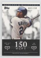 Ken Griffey Jr. (1997 AL MVP - 185 Hits) /150