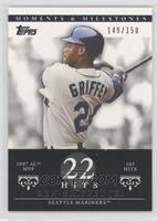 Ken Griffey Jr. (1997 AL MVP - 185 Hits) /150