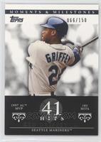 Ken Griffey (1997 AL MVP - 185 Hits) /150