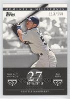 Ichiro (2001 AL MVP/ROY - 242 Hits) /150