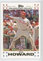 Ryan Howard /2007