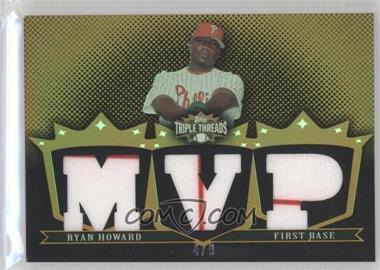 2007 Topps Triple Threads - [???] #TTR17 - Ryan Howard /9