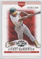 Rickey Henderson /1350