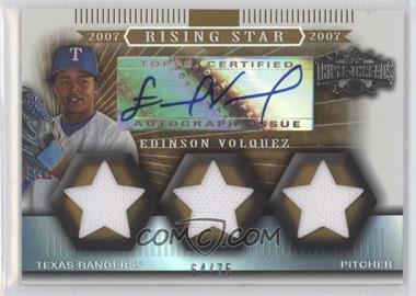 2007 Topps Triple Threads [???] #168 - Edinson Volquez