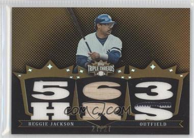 2007 Topps Triple Threads [???] #98 - Reggie Jackson /27