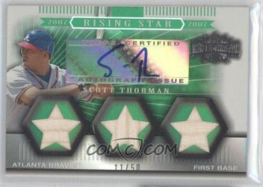 2007 Topps Triple Threads Emerald #159 - Scott Thorman /50