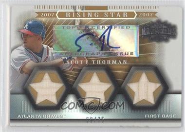 2007 Topps Triple Threads Gold #159 - Scott Thorman /75