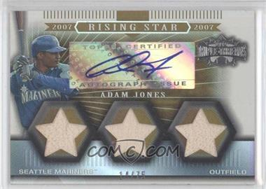 2007 Topps Triple Threads Gold #167 - Adam Jones /75