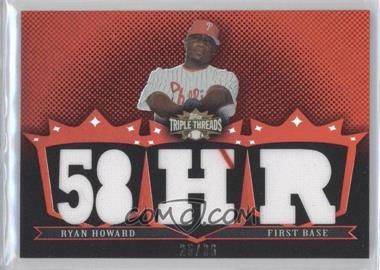 2007 Topps Triple Threads Relics #TTR-18 - Ryan Howard /36