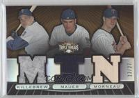 Harmon Killebrew, Joe Mauer, Justin Morneau /27