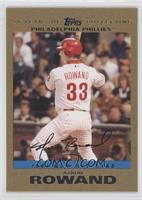 NL All-Star - Aaron Rowand /2007