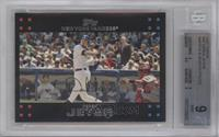 Derek Jeter (Mantle and Bush in background) [BGS 9]
